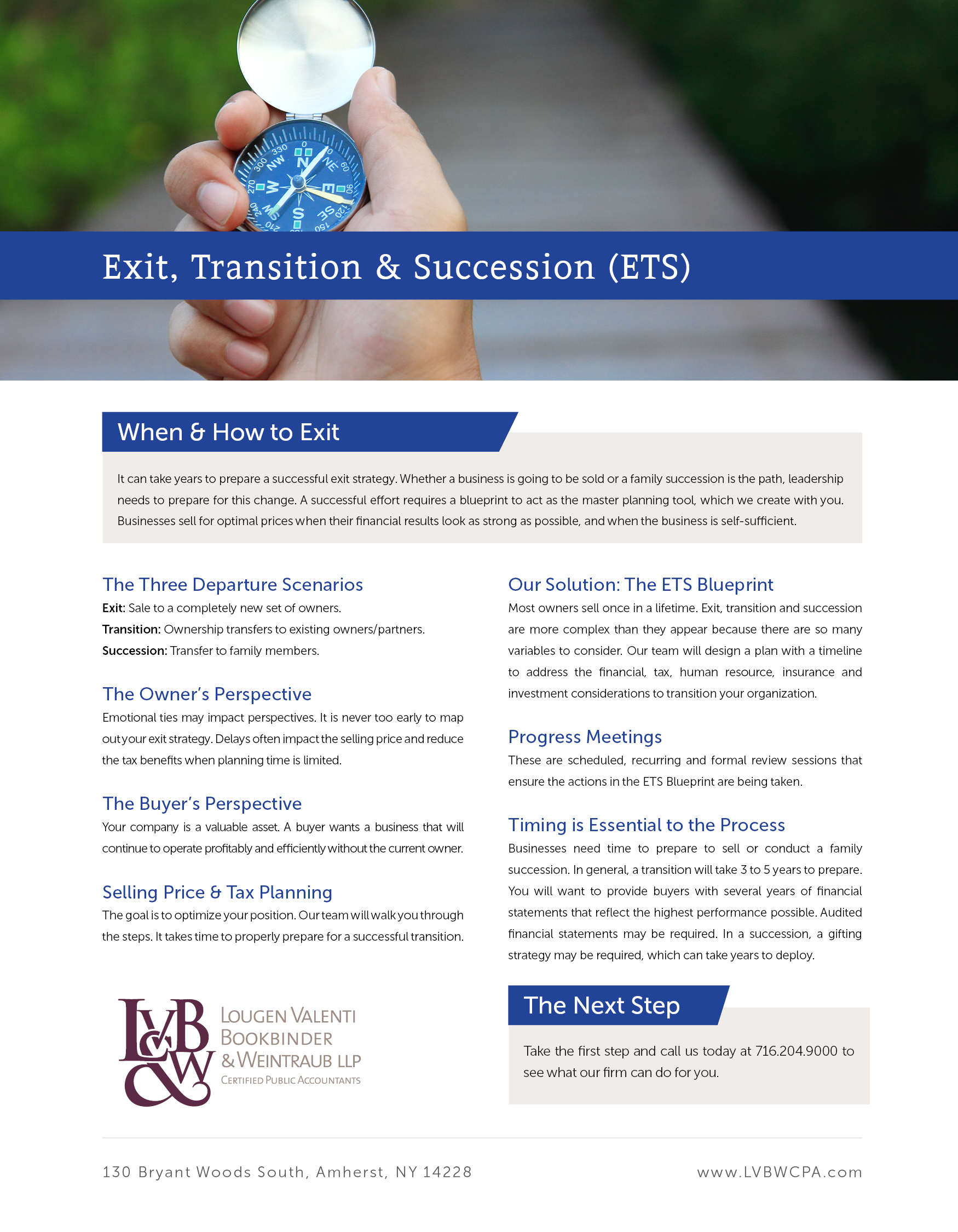 Exit transition succession ets lvbw download pdf malvernweather Image collections